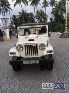 2011 Model Mahindra Thar for sale at Thrissur