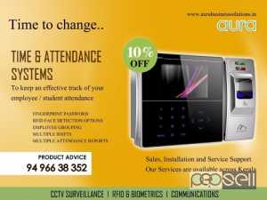 Time and Attendance System | Punching System | Biometric Attendance System Kerala
