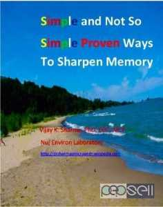 Simple and Not So Simple Proven Ways to Sharpen Memory an eBook