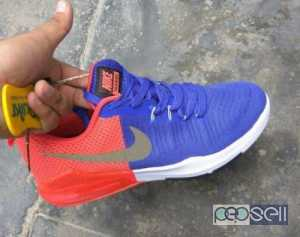 Nike Red-and-blue shoes cod available