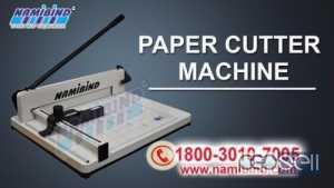 Paper Cutter Machine in Noida-Nambind