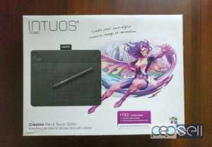 Wacom intuos small art pen and touch tablet