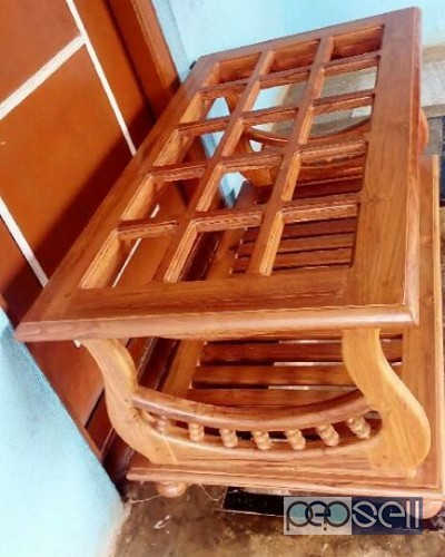 New Model Teak Wood Teapoy Palakkad Free Classifieds