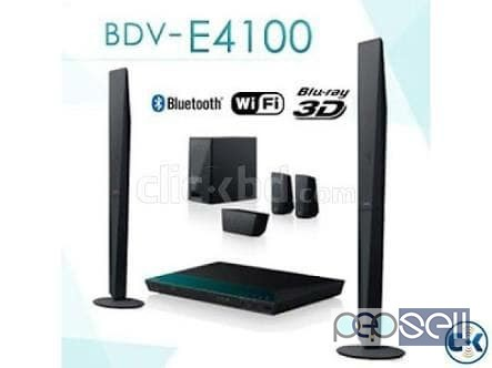 Sony BDV E4100 5.1 blueray home theatre system for 25000 only 1
