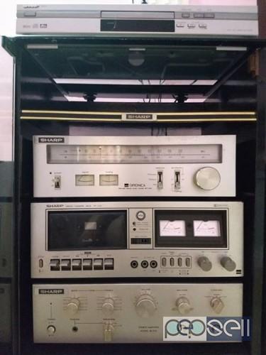 SHARP Hi-Fi Stereo System 0