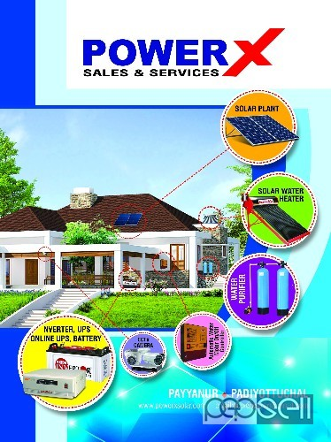 POWERX Systems- Microtek Solar Inverter Dealer Payyannur