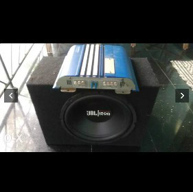 Black JBL 1200 watts  0
