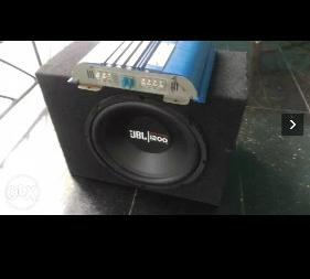 Black JBL 1200 watts  1