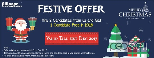 Alliance Recruitment Agency Christmas and New Year Offers 0