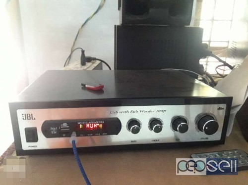 Black And Silver JBl subwoofer Woofer Amplifier for sale in Chalakudy 0