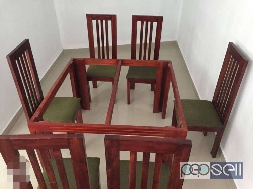New Glass Top Dining Table With Chairs For Sale In Kochi Kombaara