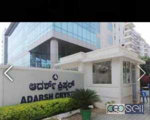 3BHK FLAT FOR RENT AT ADARSH CRYSTAL