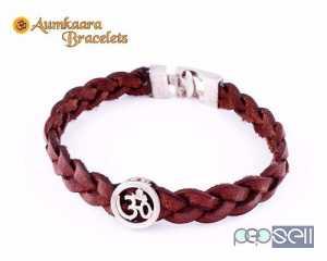 Trendy Om Bracelet in Silver for sale at Pune