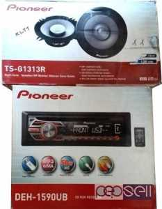 Pioneer Car Stereo system with speakers for sale at Oshiwara Mumbai