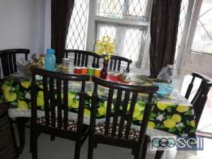 Dinning table with chairs for sale at Delhi