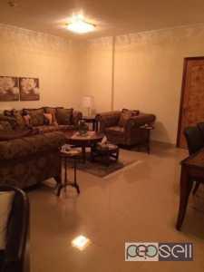 Sofa set + custom made curtain (like new) Alsadd Qatar