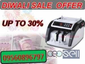 Diwali Sale Offer Currency Counting Machine & Fake Detection