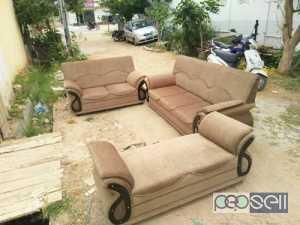 Quality Fabric Sofa Set, 3+2+Divider