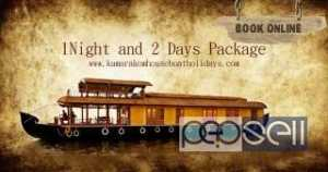 Luxury House Boat Packages | Two night and Three days