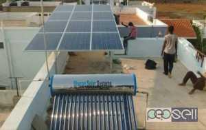Gray And Black Solar Shower Heater for sale at Kottarakara