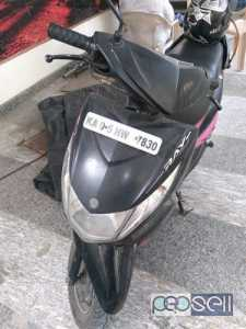 Yamaha ray bike 2012 at Banglore