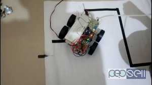 BLUETOOTH ROBO AND LINE FALLOWER ROBOTS