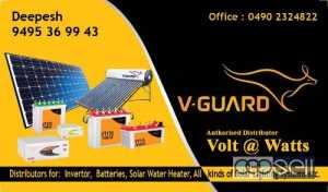 Volt @ Watts-Leading V Guard Inverter Distributors/DMA in Kannur Calicut Thalassery Nadapuram Payyanur