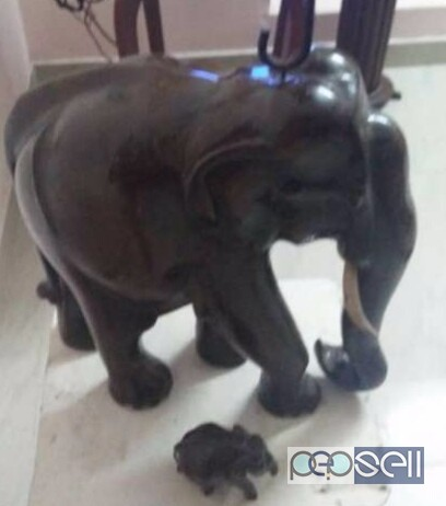 Elephant in Rosewood for sale at Kollam