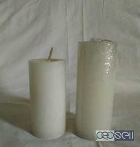 White Pillar Candles for sale Patiala, India