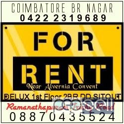 apartment , Commercial space for rent in coimbathore 0