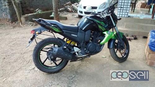 Yamaha FZS green for sale Manjeri,kerala 0