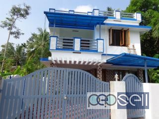 1650 sq. ft new house with 4.10 cent for sale near Tripunithura
