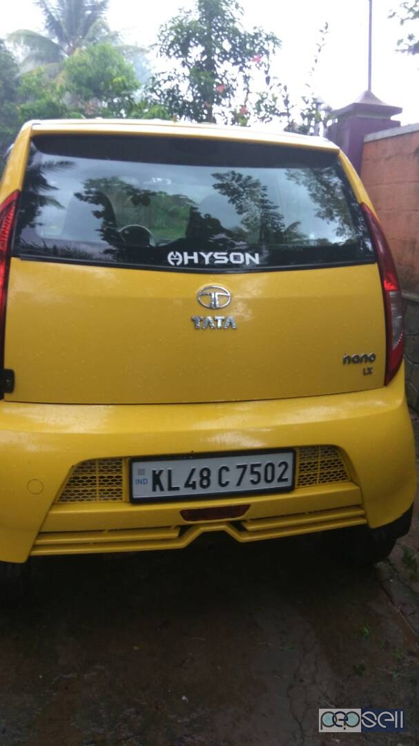 2011 Yellow Nano full option