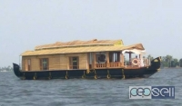 House boat for one night at alapuzha , 8500Rs