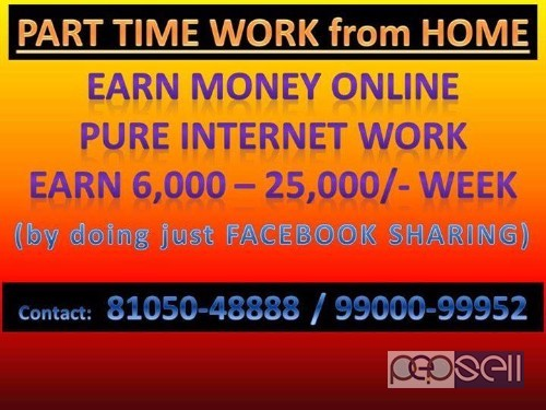 PART TIME JOB WORK FROM HOME Bangalore, India | free clifieds Work From Home Job In Bangalore on childcare jobs, work home assembly no investment, full time jobs, people working jobs, construction jobs, any jobs, government jobs, work home business, dental jobs, work place, work weekend jobs, math jobs, high-paying jobs, work at home, work home call center agents, work away jobs, fitness jobs, part time jobs, work time, work office jobs,