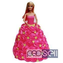 Princess Barbie Doll Birthday Cake Online Delivery At Delhi