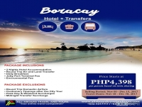 Boracay 3D2N Free and Easy Tour