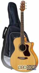 Walden Semi Acoustic Guitar For sale CG570CE with bag