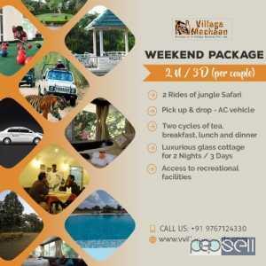Touria Gate Jungle Safari Booking pench