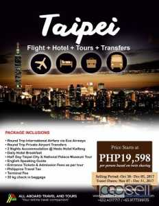 Taipei 3D2N All In Tour