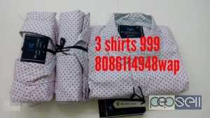 3 White Button-up Shirts for sale at Perinthalmanna