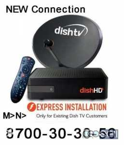 Dish tv new True HD and Normal connection