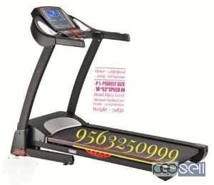 Black And Gray Treadmill for sale at Payyannur Kannur
