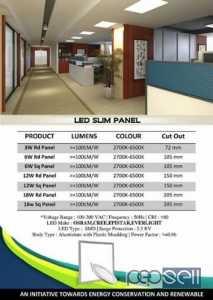Slim Panel LED Light