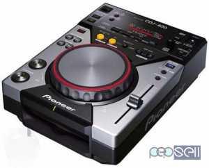 Pioneer CDJ400 Player - Behringer DDM4000 DJ Mixer for sale at Kottayam