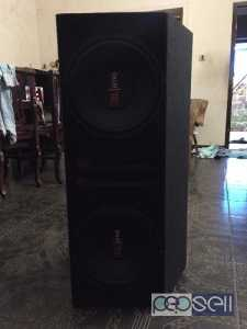 JBL Subwoofer 2400W and Sony Power Amplifier for sale at Kozhikode
