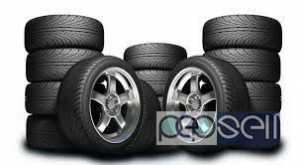 Used good tyres and alloys at Kollam