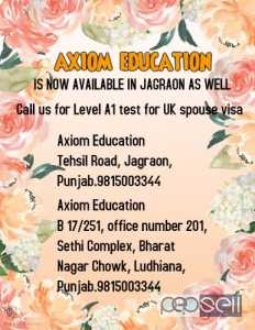 Ielts life skills level A1 esol test centre in kapurthala, sangrur,LUDHIANA