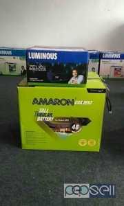 Amaron 150ah battery+1100zeelio inverter