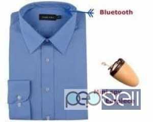Spy Bluetooth Shirt Earpiece Set With Hidden Nano Earpiece Bengaluru, Karnataka, India